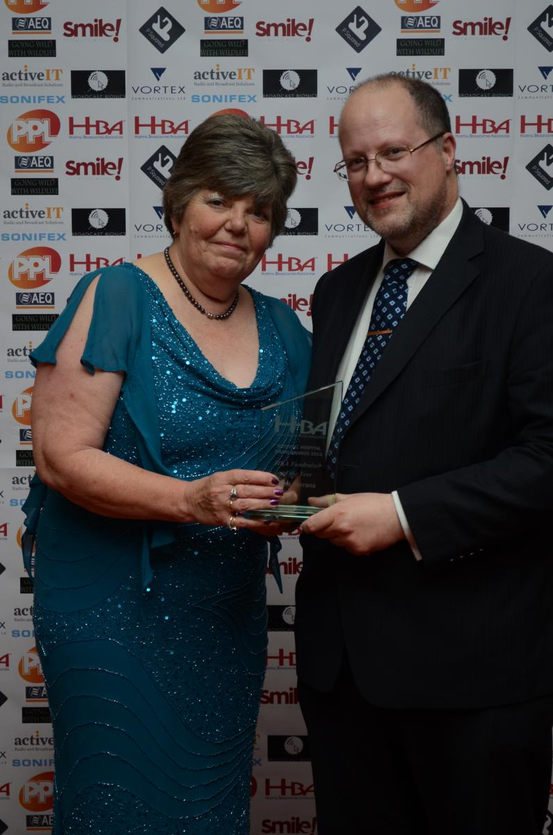 National Hospital Radio Awards 2015 - Fundraiser of the Year